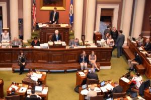 Minnesota House of Representatives debated Rep. Jenifer Loon's teacher licensure bill (HF 2) Thursday. The House passed the bill 70-63.