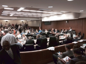 The Senate Finance Committee and the House Ways and Means Committee met today to reach a deal that added an extra $125 million for public education.
