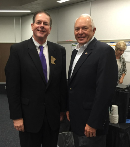 MSBA President Kevin Donovan had great meeting with U.S. Rep. John Kline on NCLB reauthorization.