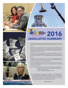 legislative summary